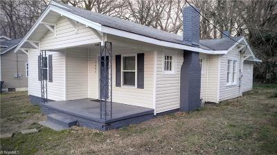 High Point Single Family Home For Sale: 1608 N Hamilton Street