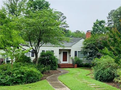 Greensboro Single Family Home Due Diligence Period: 2815 Sherwood Street
