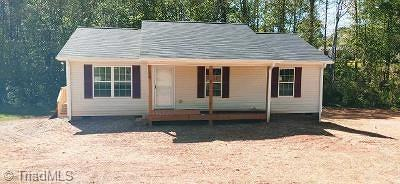 Davidson County Single Family Home For Sale: 1000 Old Linwood Road