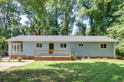Greensboro Single Family Home For Sale: 3017 Dellwood Drive