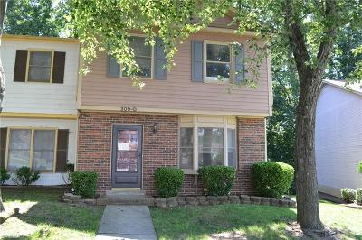 Greensboro Condo/Townhouse For Sale: 309 E Montcastle Drive #D