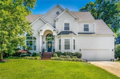 Greensboro Single Family Home For Sale: 6006 Crystal Spring Court