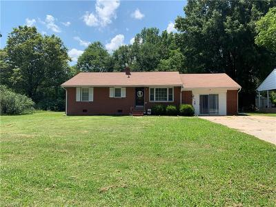 Lexington NC Single Family Home For Sale: $106,840