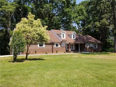 Winston Salem Single Family Home For Sale: 4732 Miller Road
