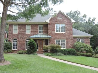 Winston Salem Single Family Home For Sale: 3216 Grouse Hollow Road