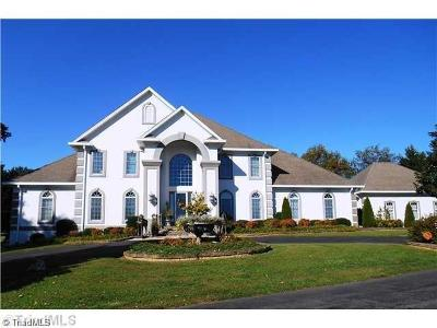 Mount Airy NC Single Family Home For Sale: $872,500