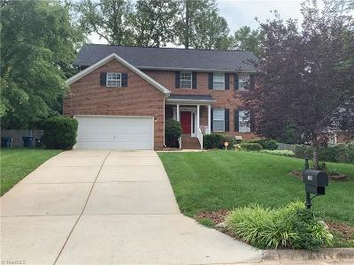 Greensboro Single Family Home For Sale: 4324 Clovelly Drive