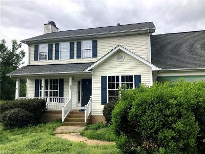 Kernersville Single Family Home For Sale: 320 Hastings Hill Road