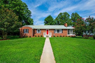 Winston Salem Single Family Home For Sale: 120 Bishop Street