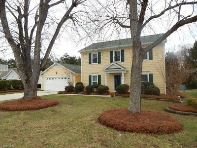 Jamestown Single Family Home For Sale: 3512 Morris Farm Drive