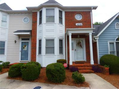 Guilford County Condo/Townhouse For Sale: 3211 Cypress Park Road #C