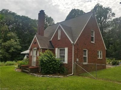 Winston Salem Single Family Home For Sale: 3640 Main Street