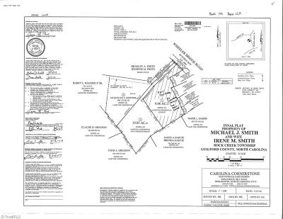 Burlington Residential Lots & Land For Sale: 1954-1954 Zz Wheeler Bridge Road