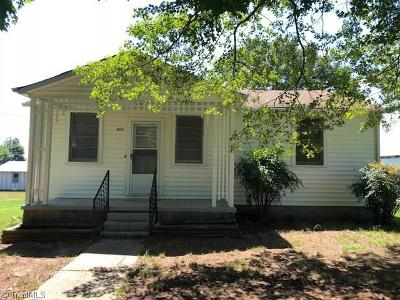 Mocksville Single Family Home For Sale: 482 Fairfield Road