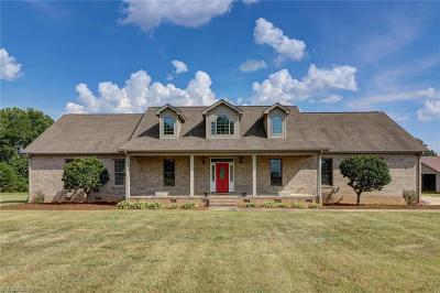 Reidsville Single Family Home For Sale: 12235 Nc Highway 150