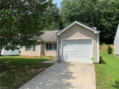Greensboro Single Family Home For Sale: 3604 Dartford Drive