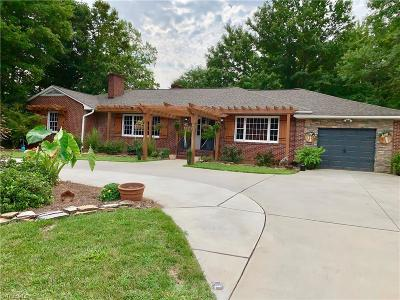 Winston Salem Single Family Home For Sale: 3330 Country Club Road