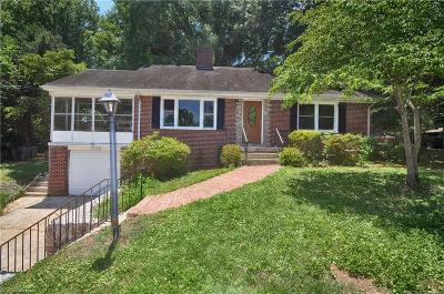 Burlington Single Family Home For Sale: 1520 Overbrook Road