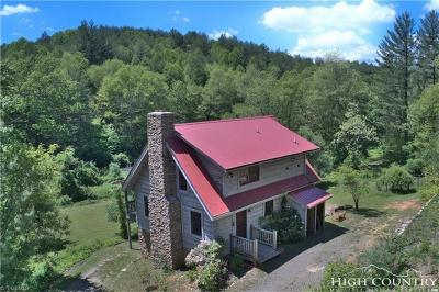 Alleghany County Single Family Home For Sale: 1357 Jr Dairy Road
