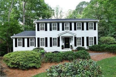 Winston Salem Single Family Home For Sale: 3411 Buena Vista Road