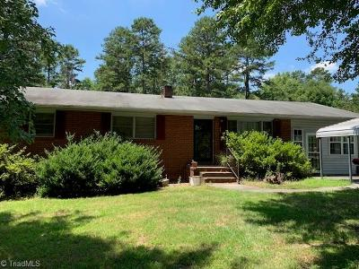 Davie County Single Family Home Due Diligence Period: 144 Green Grass Road