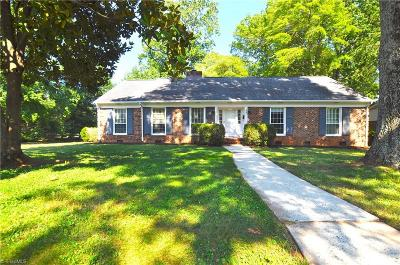 Greensboro Single Family Home For Sale: 804 Greenwood Drive