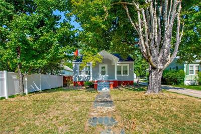 Asheboro NC Single Family Home Due Diligence Period: $140,000