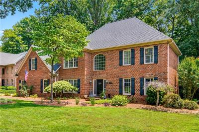 High Point Single Family Home For Sale: 3908 Wesseck Road