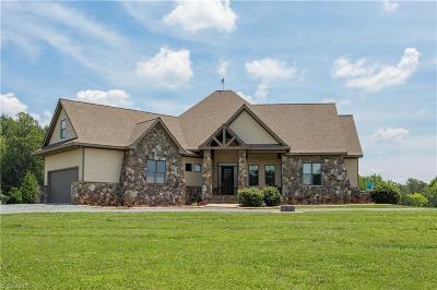 Burlington Single Family Home For Sale: 3819 Danieley Water Wheel Road