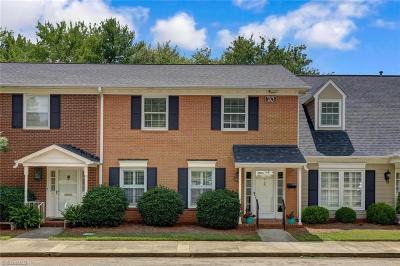 Greensboro Condo/Townhouse For Sale: 20 Fountain Manor Drive #B