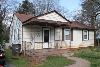 Winston Salem Single Family Home Due Diligence Period: 3622 Cornell Boulevard