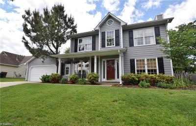 Greensboro Single Family Home For Sale: 5013 White Horse Drive
