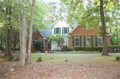 Asheboro NC Single Family Home For Sale: $324,900