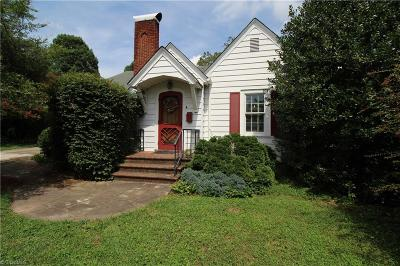 Asheboro Single Family Home Due Diligence Period: 907 Lee Street