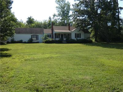 Guilford County Single Family Home For Sale: 4826 Randleman Road