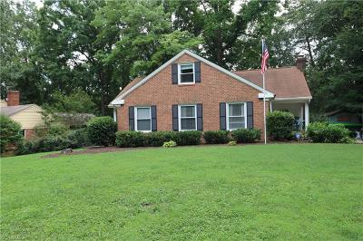Greensboro Single Family Home For Sale: 3507 Fox Place