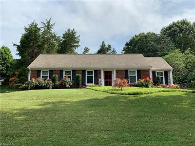 Winston Salem Single Family Home Due Diligence Period: 960 Foxhall Drive