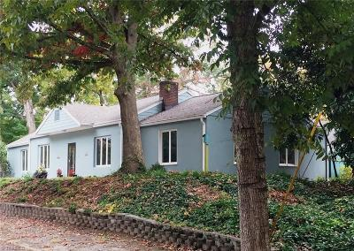 Winston Salem Single Family Home For Sale: 500 Magnolia Street