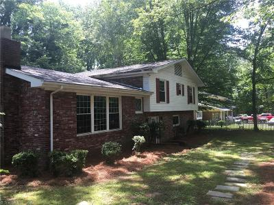 Winston Salem Single Family Home For Sale: 2700 Speas Road