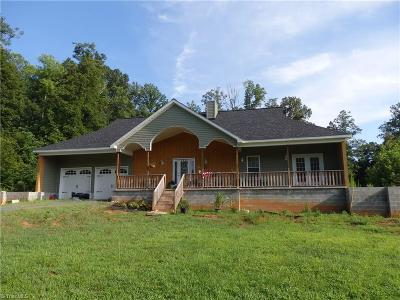 Asheboro Single Family Home Due Diligence Period: 2344 Spoons Chapel Road