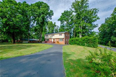 Pfafftown Single Family Home For Sale: 1600 Bright Leaf Road