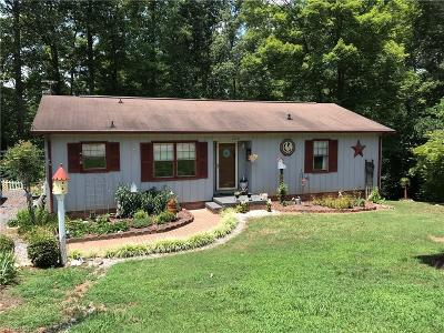 Asheboro Single Family Home Due Diligence Period: 1628 Pepperidge Road