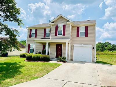 Winston Salem Single Family Home For Sale: 4212 Paula Drive