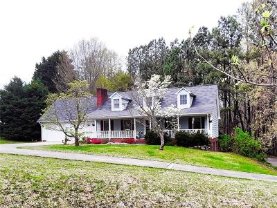 Winston Salem Single Family Home For Sale: 1655 Ardmore Road