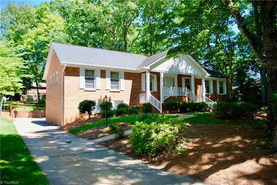 Winston Salem Single Family Home For Sale: 311 Dover Drive