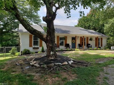 Winston Salem Single Family Home For Sale: 640 Walkertown Guthrie Road