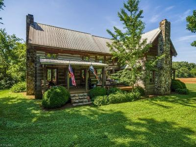 Cleveland NC Single Family Home For Sale: $649,000