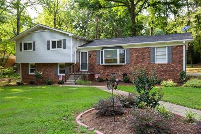 Greensboro Single Family Home For Sale: 5612 Buddingwood Drive