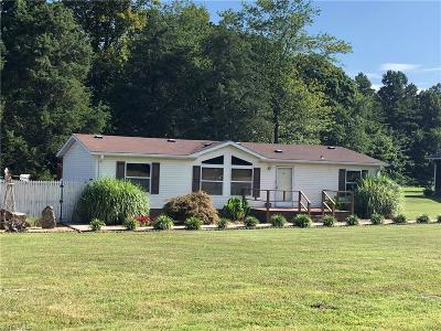 Davie County Manufactured Home For Sale: 112 Courtney Road