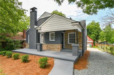 High Point Single Family Home For Sale: 818 Hilltop Street